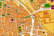 Mapa carril bici madrid 2013