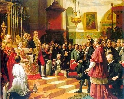 Las Cortes de Cádiz de 1812 (Obra de José Casado del Alisal)